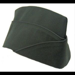 Vintage Accessories - US Army Green Military Garrison Cap